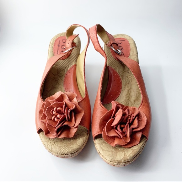 Boc by Born cork wedge sandal